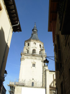 Cathedral in Vitoria