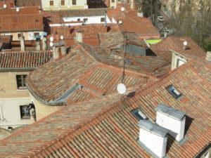 ... of roof tops below